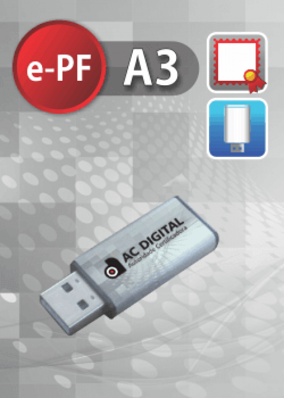 e-PF A3 em token