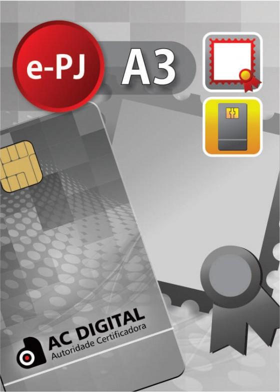 e-PJ A3 em cartao para ME/EPP/MEI