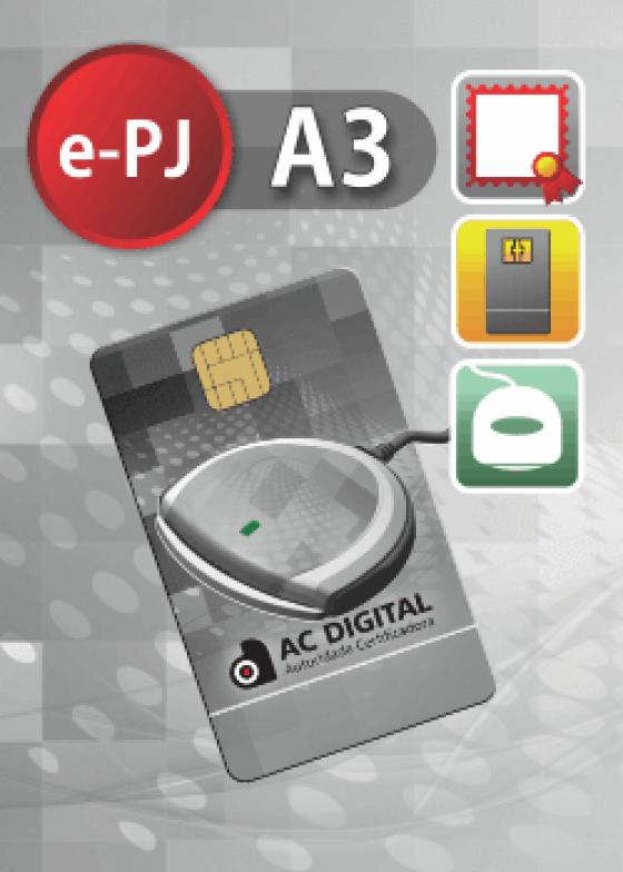 e-PJ A3 em cartao e leitora