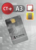 CT-e A3 em cartao