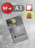 NF-e A3 cartão